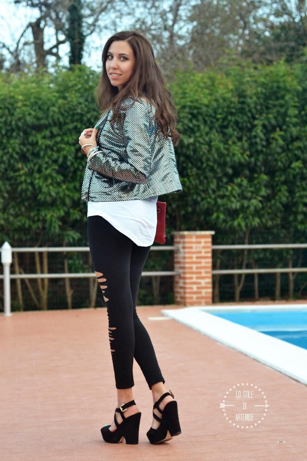 giacca lurex