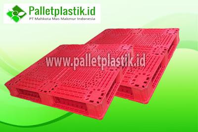 Harga Pallet Plastik Bekas HDPE Murah Bisa Racking.