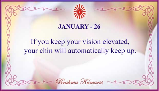 Thought For The Day January 26