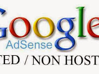 perbedaan akun hosted dan non hosted adsense