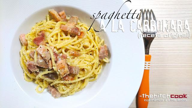 Spaghetti a la carbonara (receta original)