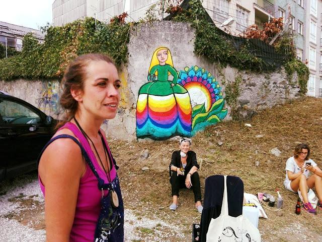Mamen Bazarra. La niña del arco iris. Las Meninas de Canido.