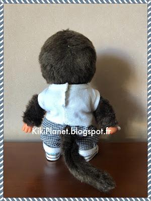 kiki monchhichi bebichhichi couture pantalon vêtement handmade fait main