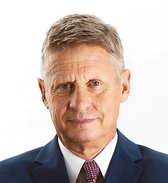 January 1 – Gary Johnson