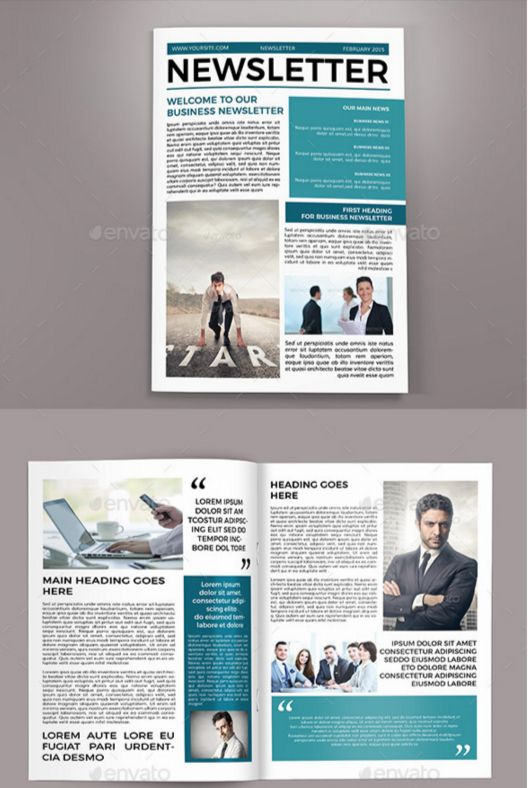 newsletter templates pdf