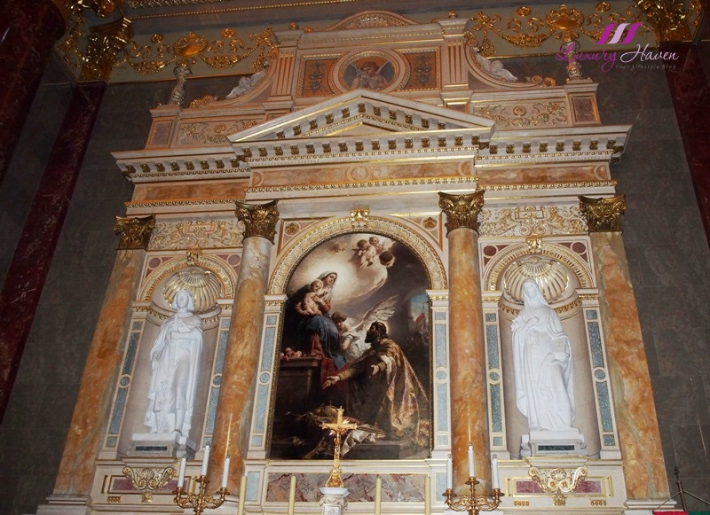 budapest st stephen basilica benczur painting virgin mary