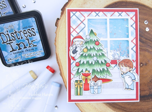 Heather's Hobbie Haven - Secret Santa Card Kit