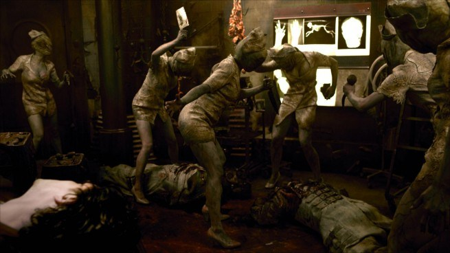 Cassie Carnage's House of Horror: 'Silent Hill: Revelation ...Silent Hill Revelation Pyramid Head Fight Scene
