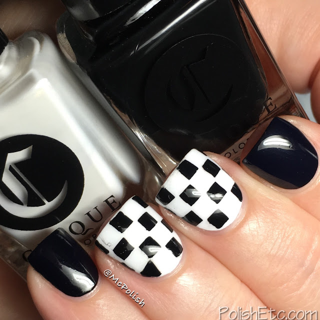 Cirque Colors - Nordstrom x Vans Pop-In Shop - McPolish - Checkerboard Kit