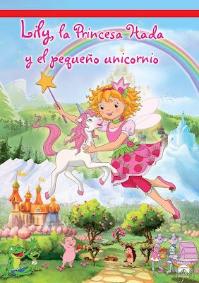 Prinzessin Lillifee Und Das Kleine Einhorn 2012 DVD R2 PAL Spanish