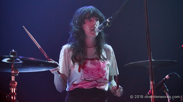 The Courtneys at The Opera House on November 27, 2018 Photo by John Ordean at One In Ten Words oneintenwords.com toronto indie alternative live music blog concert photography pictures photos nikon d750 camera yyz photographer