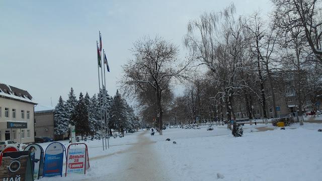 Зимний Белореченск
