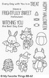 My Favorite Things FRIGHTFULLY SWEET Clear Stamps