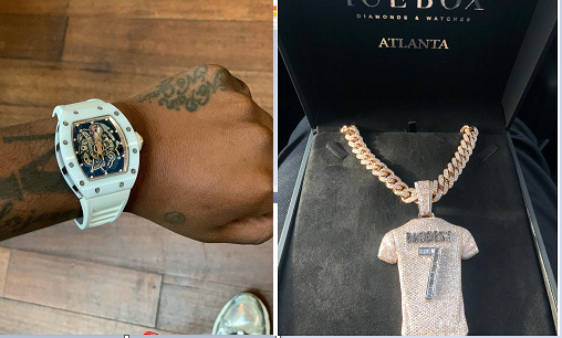 Davido Receives Expensive Early Birthday Gifts Photos