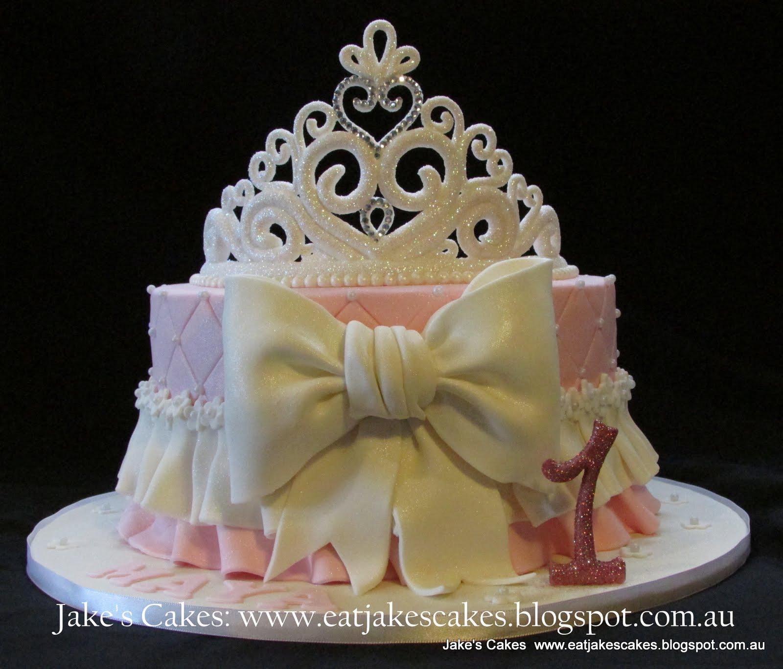 Jake S Cakes Princess Tiara Cake