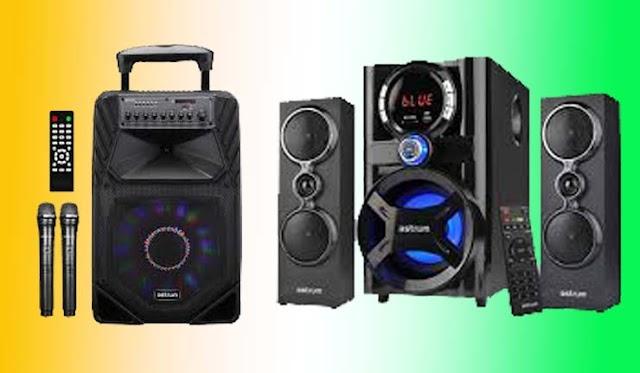 Top 4 Astrum 'TM085' trolley interactive media speakers