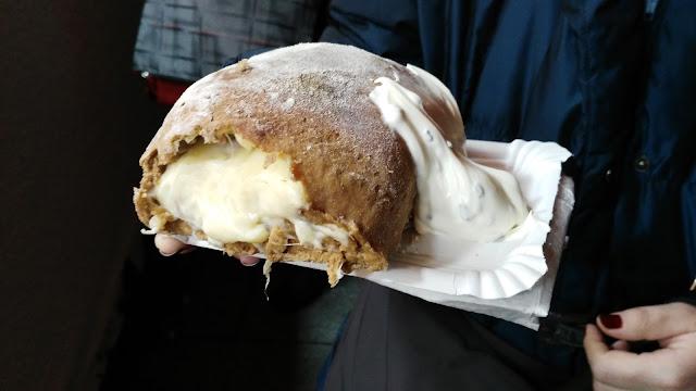 Panino al formaggio-Dresda