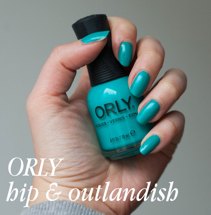 Orly Melrose hip & outlandish review