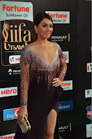 Hansika Motwani in Glittering Deep Neck Transparent Leg Split Purple Gown at IIFA Utsavam Awards 09.JPG