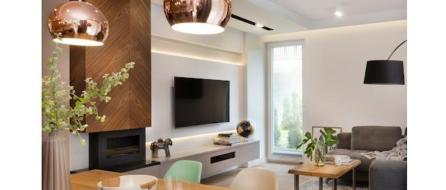 sala-decorada-com-lareira