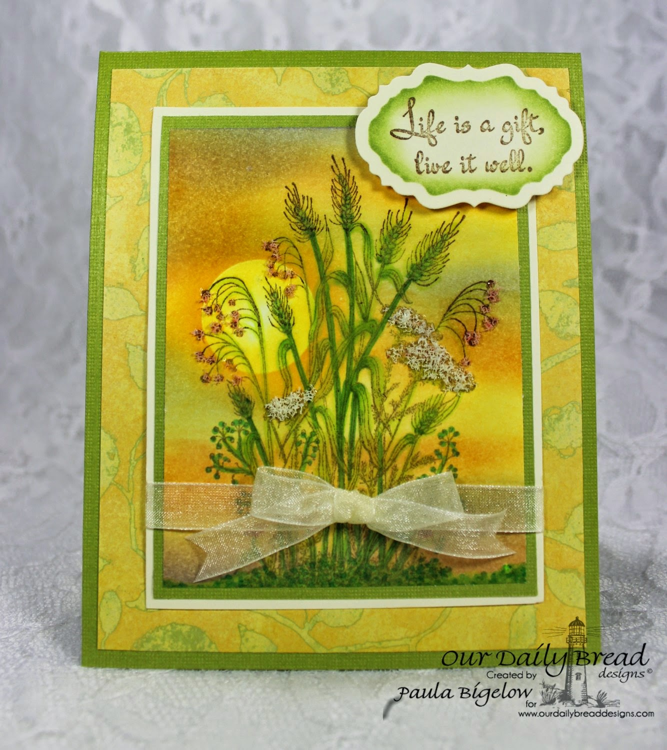 Our Daily Bread Designs, Life is a Gift, Vintage Labels, Designed by Paula Bigelow