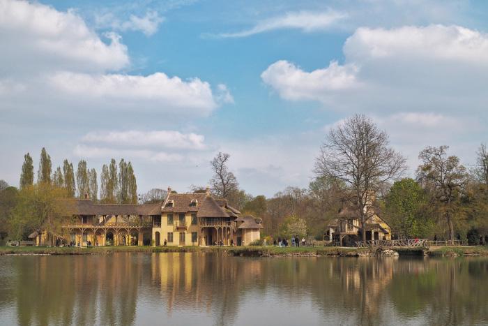 Le hameau de la reine au Petit Trianon