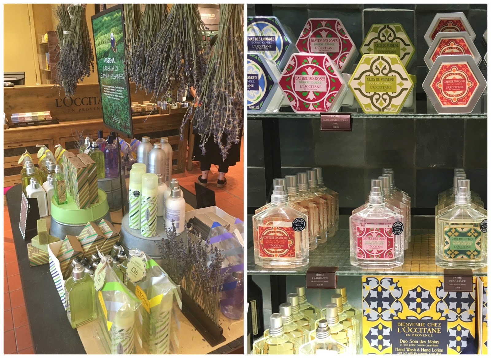 L'Occitane En Provence, beauty, skincare, Highcross Leicester,