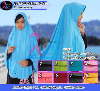 Jilbab syar'i panjang belakang yang murah meriah