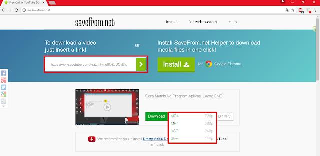 Cara Download Video Di Youtube Tanpa Aplikasi Downloader Skripsi Teknik Informatika