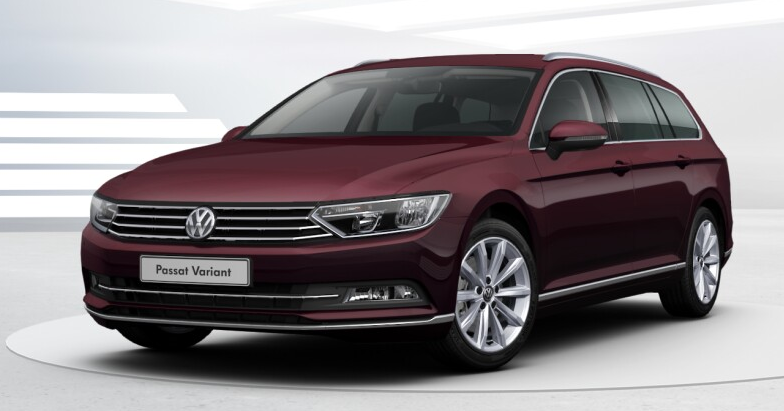 volkswagen passat viii sw 2016 couleurs colors. Black Bedroom Furniture Sets. Home Design Ideas