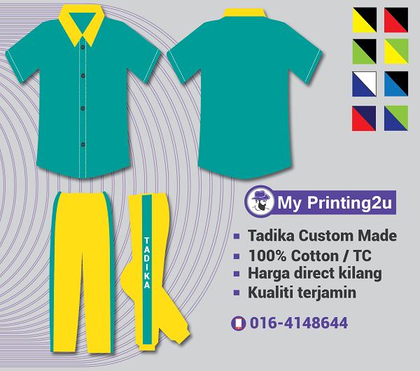 uniform tadika