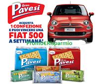 Logo Concorso Gran Pavesi 2018: vinci 6 Fiat 500