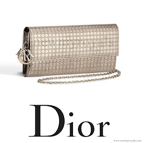 Queen Maxima CHRİSTAN DIOR Lady Diar Clutch