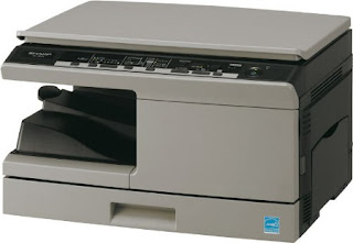 function device every bit a copier for smaller orders  Sharp AL-2021 Driver Download