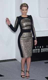 ALICE EVE, ZOE SALDANA, KATE BECKINSALE AND OTHER HOTTIES  GO TO THE STAR TREK 2 PREMIERE