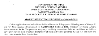 SSB Head Constable (Ministerial) Exam Syllabus in Hindi and Previous Question Papers