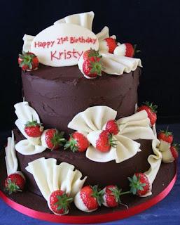 gambar kue ulang tahun untuk anak perempuan elegan