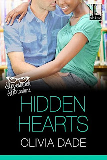 contemporary romance, romance novel covers, Hidden Hearts by Olivia Dade