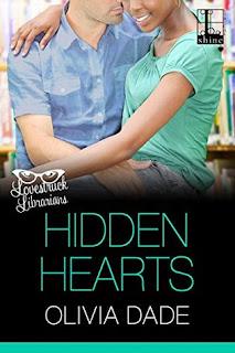 contemporary romance, romance novel covers, Hidden Hearts by Olivia Dade