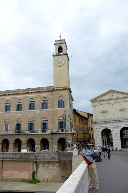 główne zabytki w Pizie, Włochy, Toskania