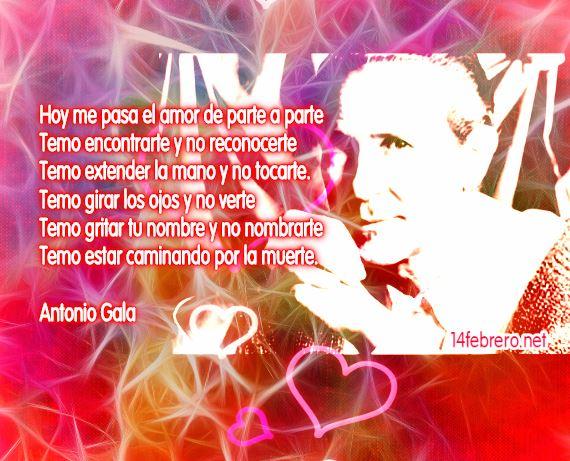 poemas de amor  de Antonio Gala