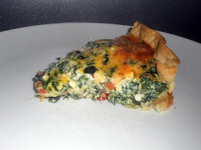 Artichoke-Spinach-Sun-dried-Tomato-Vegetarian-Quiche