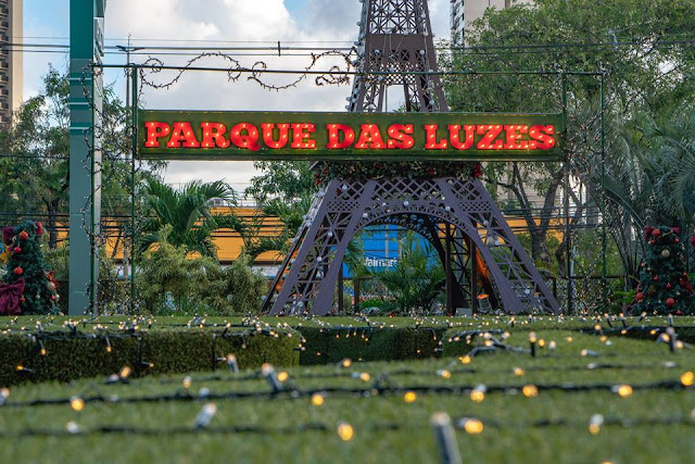 Parque das Luzes do Plaza Shopping