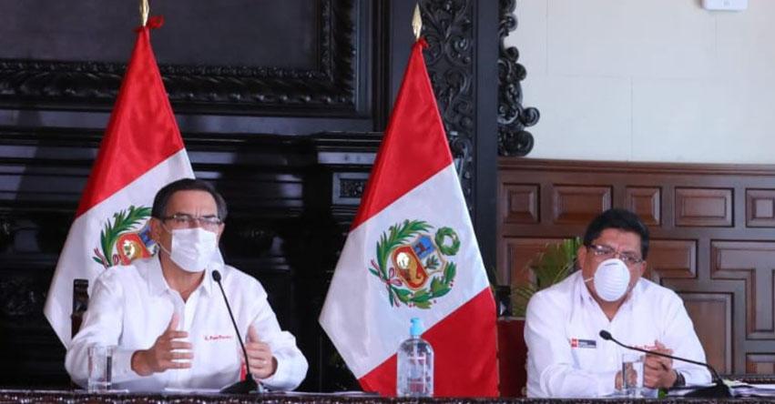 Personas que no cumplen con Cuarentena enfrentarán proceso penal, informó el Presidente de la República, Martín Vizcarra