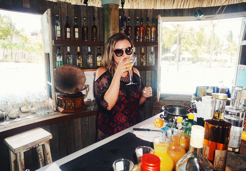 LUX Belle Mare Mauritius Rum Bar Mari Kontan Cocktails