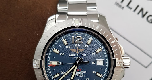 [FOR SALE] PREOWNED BREITLING COLT CHRONOMETER 41
