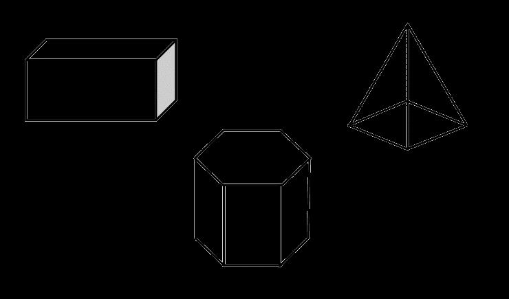 Mewarnai Gambar Bentuk Ruang 3 Dimensi Aneka Mewarnai Gambar