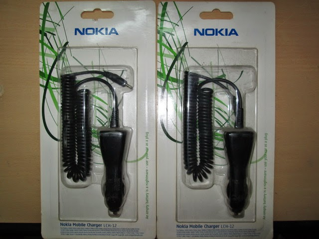 charger mobil Nokia LCH-12 original