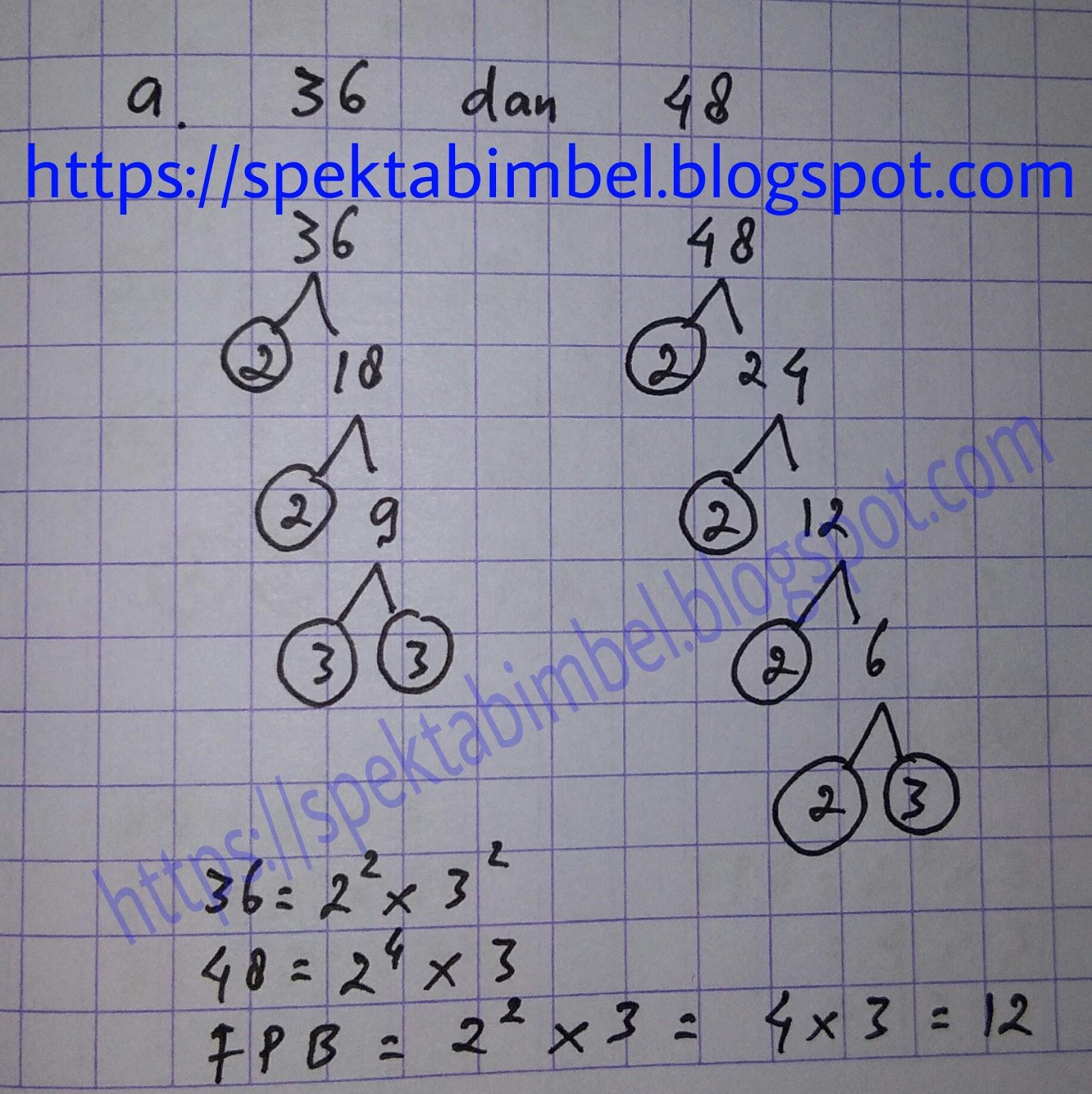 Fpb Dari 36 48 Dan 72 Adalah - Get Images