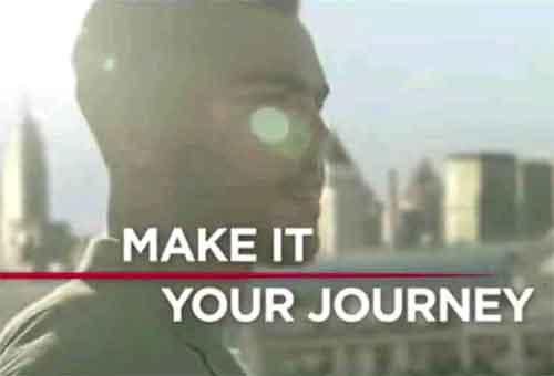 Potongan Gambar dari  Iklan Dunhill yang beredar Youtubeau.  Courtesy Youtube